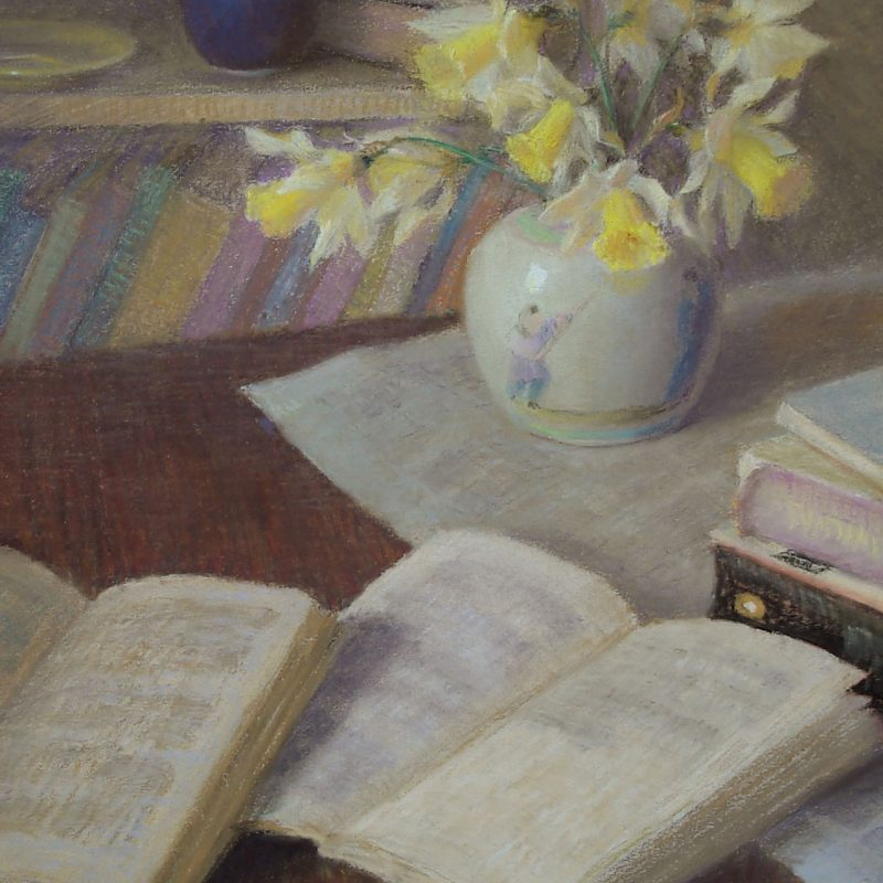 Books And Jonquils