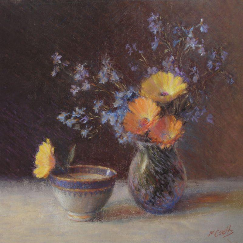 Marigolds Lobelia